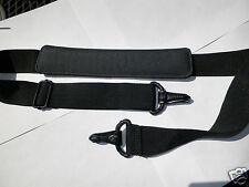 Laptop Replacement Shoulder Strap Black Padded Adjustable Length Camera Case Bag