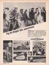 1966 HARLEY-DAVIDSON ELECTRA GLIDE ~ CLASSIC ORIGINAL PRINT AD