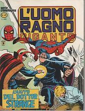 L'UOMO RAGNO GIGANTE  #  41  L'AIUTO DEL DOTTOR STRANGE corno 1979  dr. dott.
