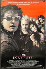 THE LOST BOYS 1987 ORIG 27X40 MOVIE POSTER JASON PATRIC KIEFER SUTHERLAND