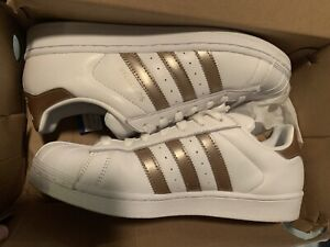 Womens Adidas Superstar Sneakers Rose Gold