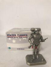 2000 GI Joe Pewter Figure Classics Action Team Series Marine Corps Commando-NIB