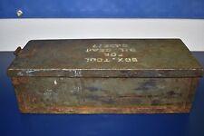 Military Tool Box Oil Gear D43677
