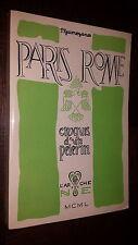 PARIS ROME - Croquis d'un Pélerin - P. Guimezanes 1950 - Ex. Num.