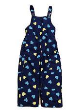 Oshkosh B'Gosh Girl Size 4 S Snow Pants Blue Yellow Heartshapes