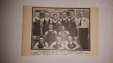 Florida Gators University Gainesville 1922-1923  Basketball Team Picture
