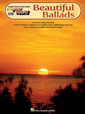 E-Z Play Today 336 - BEAUTIFUL BALLADS - Easy Keyboard Organ Music Book EZ SFX