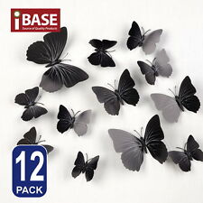 3D Butterfly DIY Wall Decals Removable Sticker Wedding Nursery Self-adhesive New