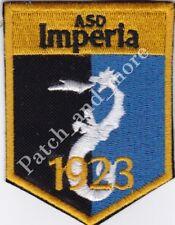 [Patch] ASD IMPERIA CALCIO stemma cm 5,5 x 7 toppa ricamata ricamo REPLICA -1027