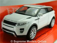 RANGE ROVER EVOQUE CAR MODEL 1:38 SIZE WHITE WELLY 4X4 OFF ROAD LAND ROVER T4Z