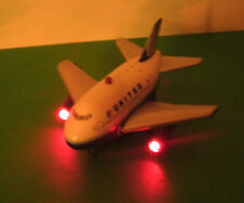 United Airlines Plastic Toy with Light & Sounds - Airplane Jumbo Jet - ToyTech