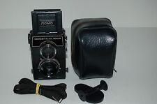 Lomo Lubitel-166B Soviet TLR Medium Format Camera & Case. 81432200. UK Sale.