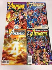 The Avengers #0 1 2 3 4 5 6 7 8 9 10 11 12 Sunburst #1 variant both #2