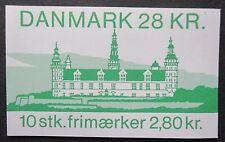 Denmark Kronborg Castle Booklet. MNH.