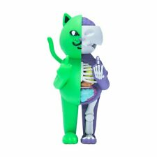 "RipNDip Lord Nermal Cat 14"" R Nerm Æ-09 Green Purple Vinyl Figure Limited Kaws"