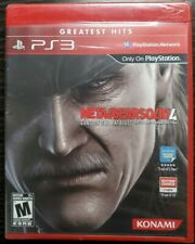 Metal Gear Solid 4 Guns of the Patriots PlayStation 3 PS3 Factory Sealed