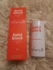 We Are Wild Solid Block Mineral Sunscreen Active Cannabis ++ 23g