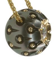 14 Carat Yellow Gold SI1 Fine Diamond Necklaces & Pendants