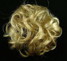"Scrunchie 3"" #24-H613 Lt Butterscotch & Pale Blond Hair Cheer Pageant Hairpiece"
