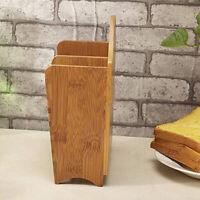 Chopsticks Utensil Bamboo Spoon Holder Cutlery Storage Rack Holder Wall Hanging
