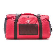 Aqua Quest White Water 75L Waterproof Duffel Durable Travel Gym Dry Bag - Red