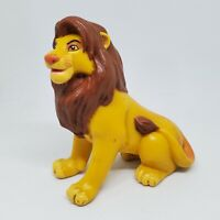 Vintage The Lion King Adult Simba Sitting PVC Figure Disney 1994 Mattel