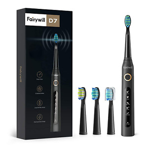 Fairywill Electric Toothbrush Powerful Sonic Cleaning ADA Accepted Rechargeable