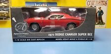 "ERTL  AUTHENTIC AMERICAN MUSCLE 1971 DODGE CHARGER SUPER BEE  RED  ""NEW"""
