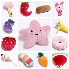 8 Pet Dog Bundle Soft Chew Toy Puppy Teething Plush Sound Squeaker Toys UK