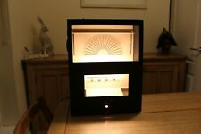 More details for rare vintage wall hanging eye test display light box unit  opticians testing