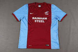 Scunthorpe United Home Football Shirt 2014/15 Mens Size XL