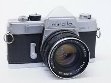Minolta SR-1 35 mm appareil photo SLR, 55 mm F1.8 PF Lentille & Case, Stock Nº u8605