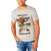 Reason Mens Fire /& Rose Cotton Crew Neck Short Sleeves Graphic T-Shirt BHFO 3803