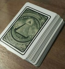 New World Order illuminati playing cards