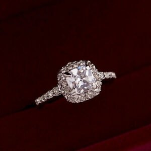 Valentine's Day gem so bright and sparkly. Great value! 3.25 ct  Ring size 8