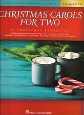 Christmas Carols for Two Trumpets Easy Instrumental Duets Book New 000277967