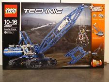 LEGO TECHNIC 42042 -La grue sur chenilles avec power function-neuf et scellée