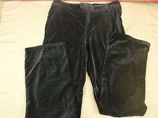 London Jean The Marisa Fit Pants Slacks Long Black Women's Size 8 L