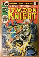 1976 Bronze Age Marvel Spotlight #29 Comic 2nd Solo Moon Knight Moench Perlin