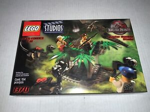 LEGO Studios # 1370 Jurassic Park Raptor Rumble Studio Dinosaurs NEW SEALED BOX