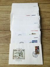 Job Lot of 48 Denmark Danmark First Day Covers From 1976 To 1990 Lot #24