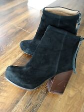 "JEFFREY CAMPBELL ""Rumble"" Suede boots 8"
