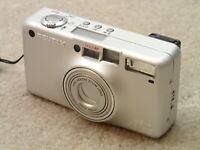 Pentax 120SW Vintage IQ Zoom Point & Shoot Film Camera Nice