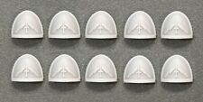 Warhammer 40,000 - Silver Templars Space Marine Shoulder Pads x 10 - Custom Made