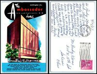 WASHINGTON DC Postcard - The Ambassador Hotel F28