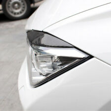 2Pcs Carbon Fiber Headlight Eyebrows Eye Lid Overlay Trims For BMW 3 Series F30