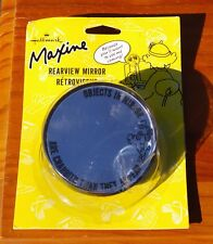 Maxine Rearview Mirror Hallmark J. Wagner Objects in Mirror Are Crabbier Appear