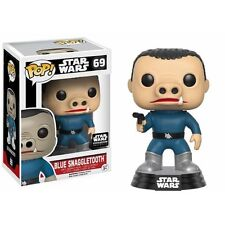 Funko POP ! STAR WARS - POP Vinyl 69 Snaggletooth Bleu Ltd. Ed.