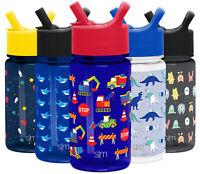 Simple Modern Summit Kids Tritan Water Bottle w Straw Lid - Leak Proof Sippy Cup