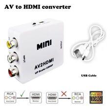 1080P RCA To HDMI AV HDTV Video Converter For Nintendo NES SNES/Nintendo 64 N64